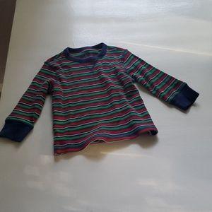 J Khaki brand striped henly long sleeve.